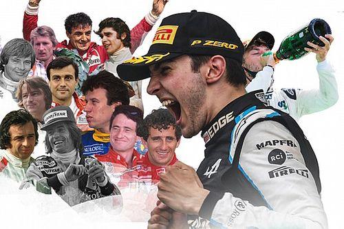 من هم السائقون الفرنسيون الذين فازوا في الفورمولا 1 قبل أوكون؟
