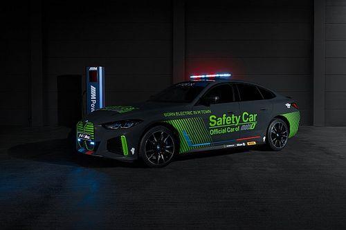 BMW i4 M50, Safety Car Anyar MotoE