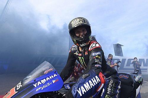 Hasil MotoGP Emilia Romagna: Bagnaia Crash, Quartararo Juara Dunia 2021