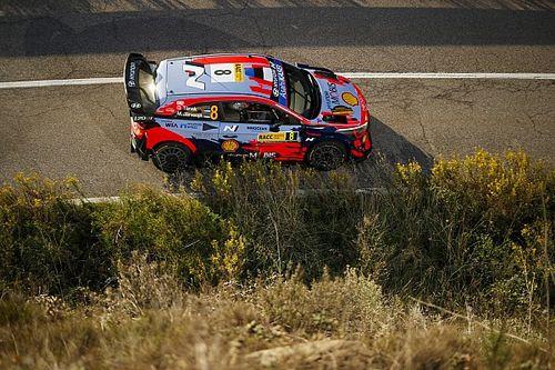 Ott Tanak Akhiri WRC Spanyol karena Sasis Rusak Berat