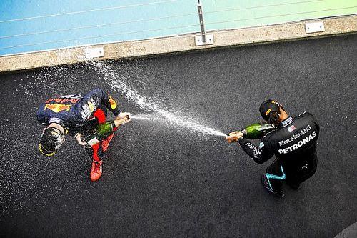 La F1 deja la champán para dar paso al vino en el podio