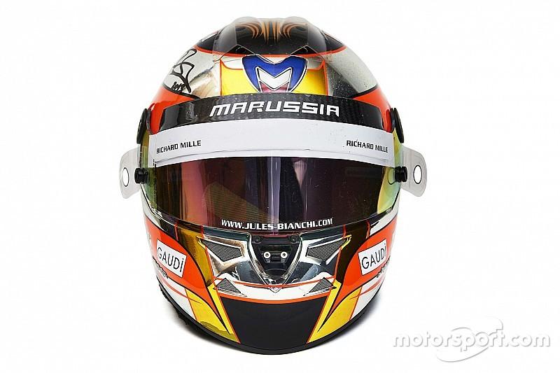 I caschi di Schumacher e Bianchi tra i 300 cimeli di F1 all'asta a Rétromobile