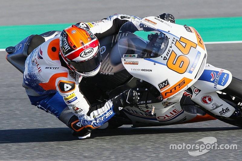 Bendsneyder 16de op tweede Moto2-testdag: