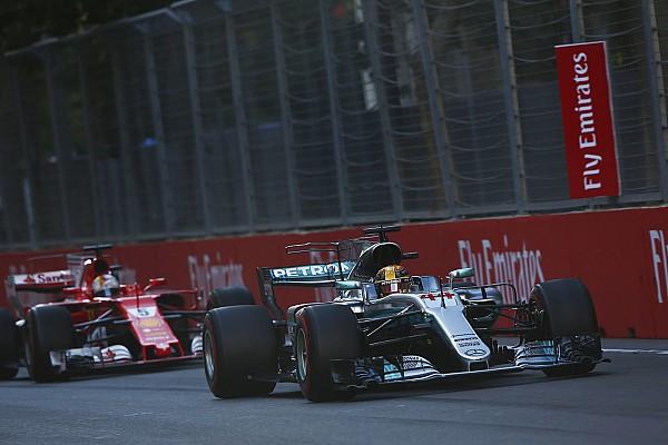 Formula 1 Breaking news FIA analysis showed Hamilton did not brake-test Vettel