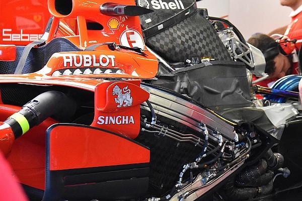 Formule 1 Nieuws Motor Vettel onbeschadigd na startcrash in Singapore