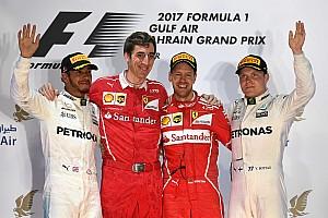Formula 1 Yarış raporu 2017 Bahreyn GP: Vettel ve Ferrari bu sene 2. kez kazandı!