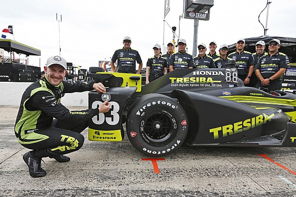 IndyCar Charlie Kimball ottiene la prima pole in carriera in Texas