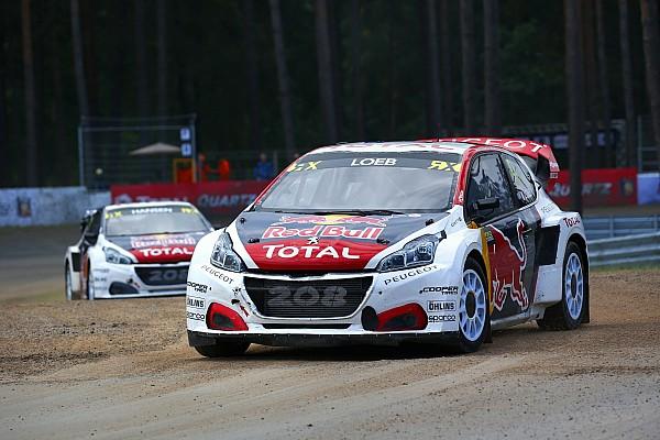 World Rallycross Interview Loeb :