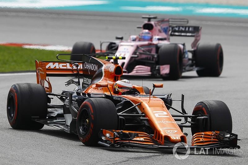 """Vandoorne, sétimo, celebra """"melhor atuação na F1"""""""