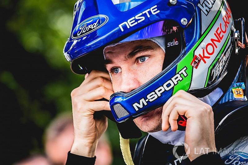 El M-Sport tendrá a Suninen en ocho rallies de 2018