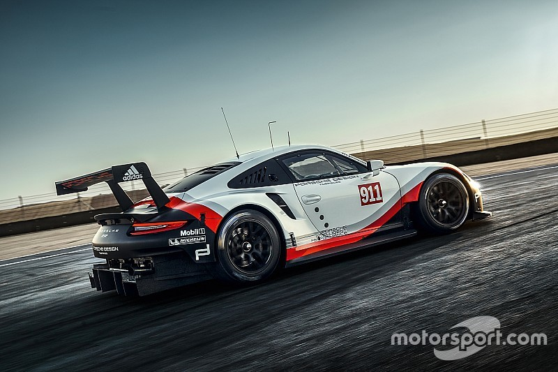 Porsche reveals mid-engined 911 RSR for WEC and IMSA