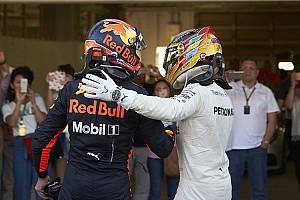 """Hamilton hoopt op Verstappen als teamgenoot: """"Wil hem verslaan"""