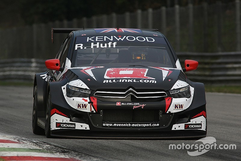 Rob Huff domine les essais collectifs de Monza sur sa Citroën privée
