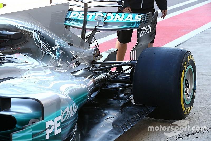 Технічний брифінг: Mercedes завихрює потік над капотом