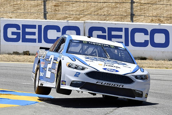 Keselowski scores career-high Sonoma result of third