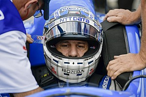 IndyCar Breaking news Kanaan apologizes for triggering eight-car wreck