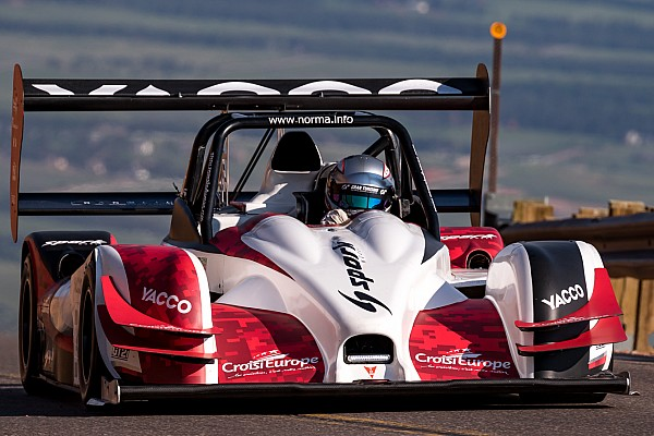 Hillclimb Romain Dumas refines settings for Pikes Peak