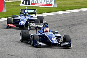 Indy Lights Race report Jones leads Serralles to Carlin 1-2 at Barber