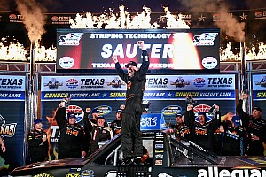 NASCAR Truck Race report Sauter goes back-to-back with Texas victory