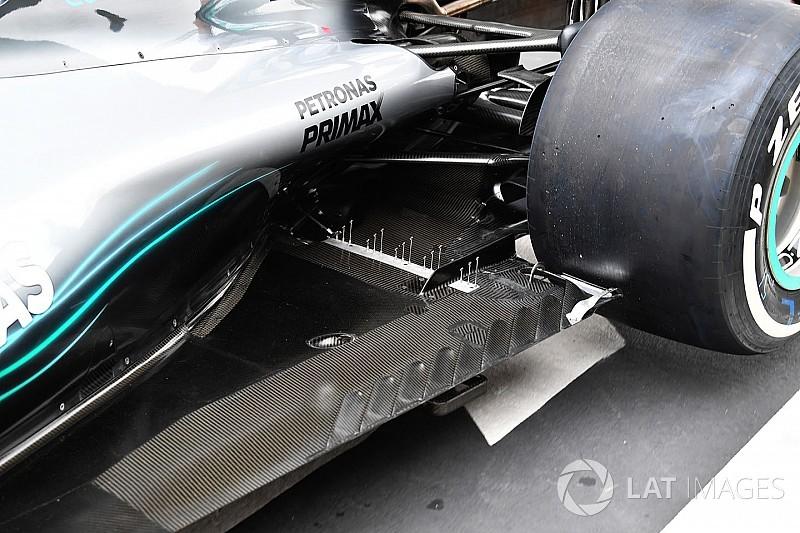 Mercedes: un tappeto di sensori sul gomito dell'estrattore
