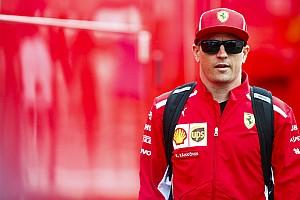 Formula 1 Breaking news Raikkonen has