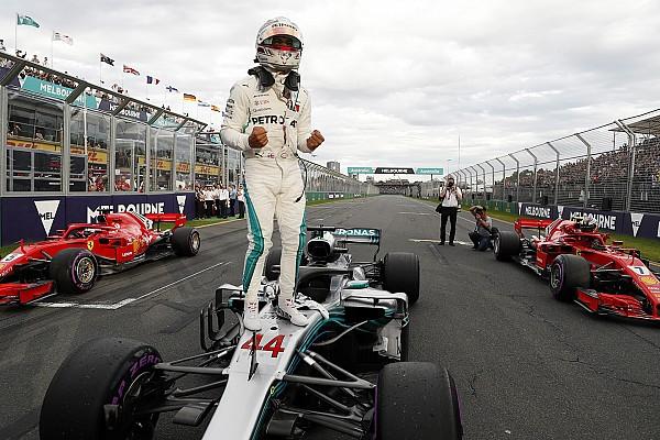 Fórmula 1 Crónica de Clasificación Hamilton aplastó a todos para llevarse la primera pole del año