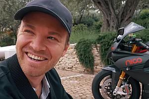 Other bike Breaking news Watch Rosberg take custom Energica e-bike around Monaco
