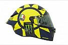 In beeld: De nieuwe helm van Valentino Rossi voor 2018