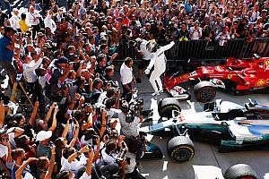 GP Amerika: Kontroversi podium ketiga, Mercedes raih titel konstruktor