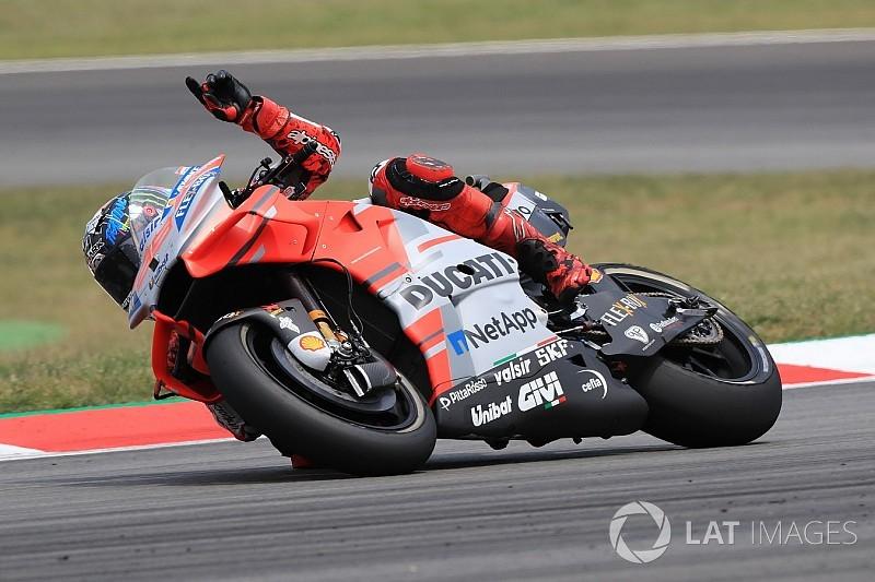 Barcelona MotoGP: Lorenzo wins again in crash-filled race
