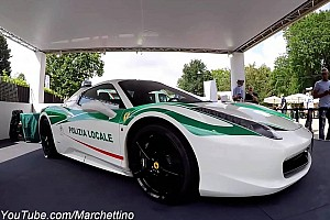 Auto Actualités Quand une Ferrari 458 Spyder de la Mafia se recycle... en voiture de police!