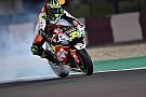 MotoGP Crutchlow escapes 330km/h near miss in opening practice