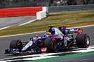 Los pilotos de Toro Rosso intercambian reclamos tras el accidente