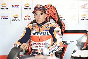 MotoGP Practice report Aragon MotoGP: Marquez tops FP3, Rossi books Q2 spot