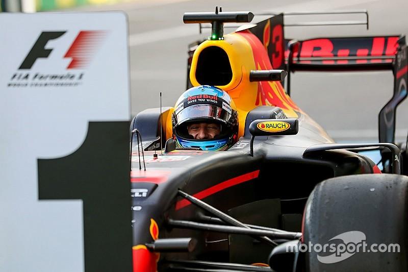 """Ricciardo, el """"líder"""" del campeonato en las últimas cuatro carreras"""