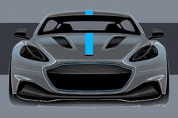 Automotive Nieuws Aston Martin neemt volledig elektrische RapidE in productie
