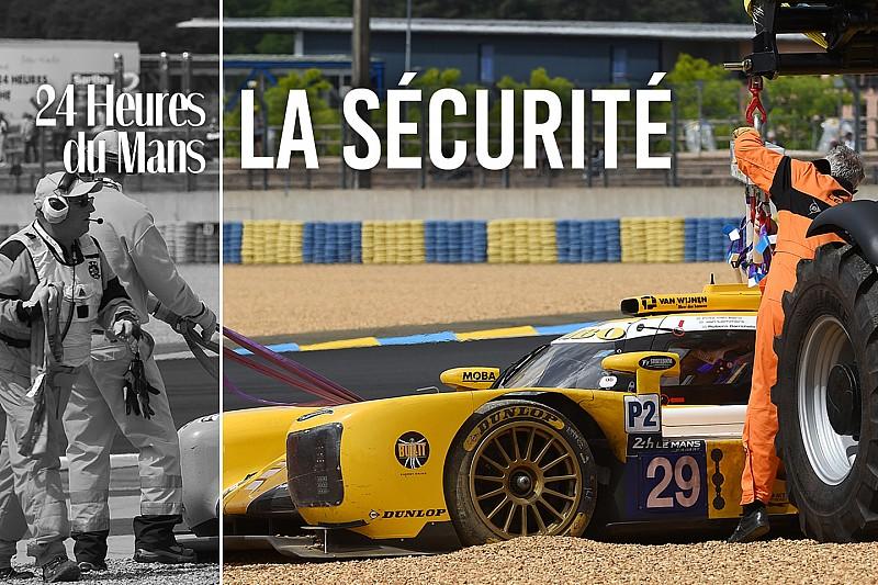 Dans la peau d'un pilote : la sécurité au Mans
