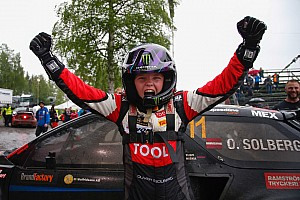 Other rally Breaking news Solberg's son becomes youngest rallycross Supercar winner