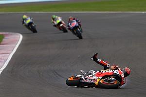 MotoGP Son dakika Marquez: Arjantin'deki kaza Honda'nın hazır olmadığını gösteriyor