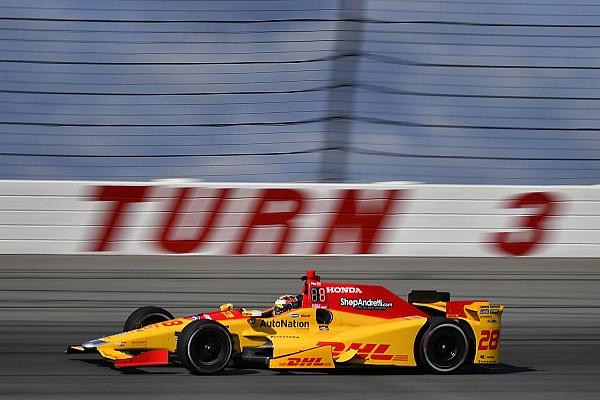 IndyCar Noticias de última hora Hunter-Reay transferido a un hospital tras su fuerte accidente
