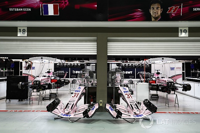 Force India розпочала модернізацію бази