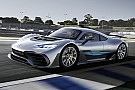 Mercedes-AMG Project One komt boven water in Monaco