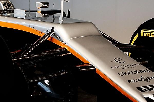 """F1 Noticias de última hora Force India explica su """"desafortunada"""" nariz en el VJM10"""