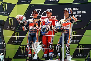MotoGP Relato da corrida Dovizioso supera Hondas e vence segunda seguida; Rossi é 8º