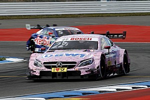 DTM Qualifying report Hockenheim DTM: Auer leads Mercedes 1-2-3 in first qualifying