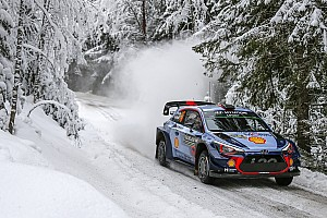 WRC Leg report Sweden WRC: Neuville extends lead, Tanak closes on Latvala