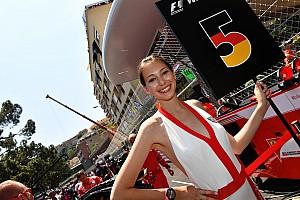A gyönyörű F1-es rajtrácslányok a Monacói Nagydíjról