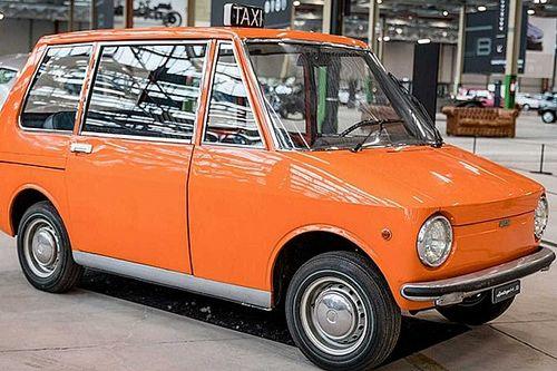 Prototipos olvidados: Fiat 850 City Taxi (1968)