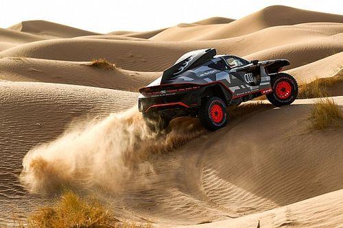 Dakar: semanas intensas de test para Audi en el desierto marroquí