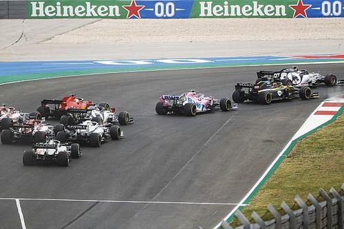 F1 registra queda de média de ultrapassagens na temporada 2020
